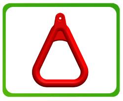 Uchwyt gimnastyczny trójkątny