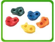 Kamienie spinaczkowe plastikowe
