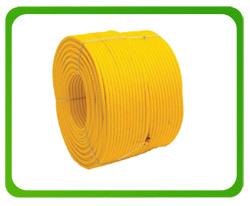 Lina zbrojona 16 mm żółta